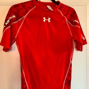 Under Armour fitted, heat gear compression shirt